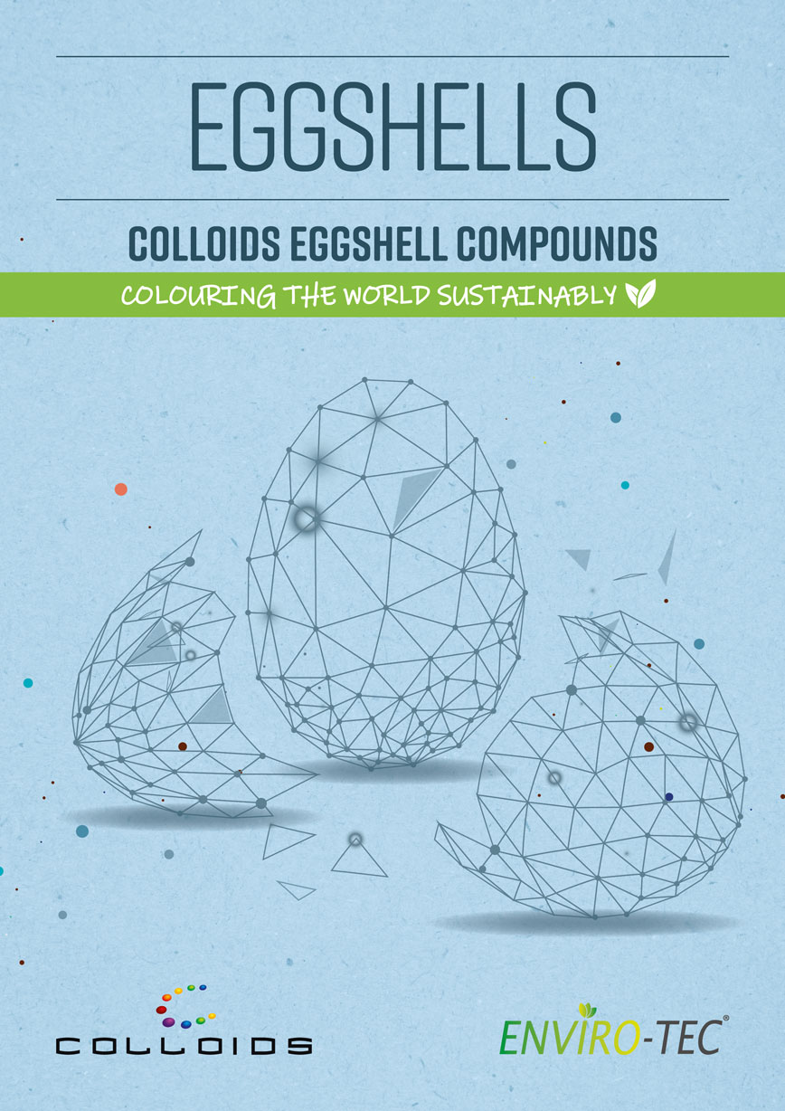 Eggshells - Colloids Eggshell Compounts - Colouring The World Sustainabily